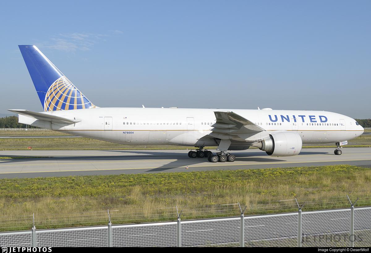 N78004 - Boeing 777-224(ER) - United Airlines