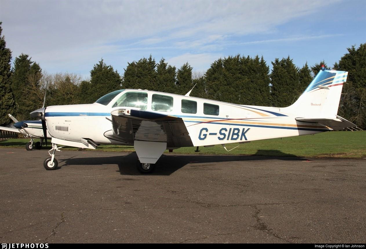 G-SIBK - Beechcraft A36 Bonanza - Private