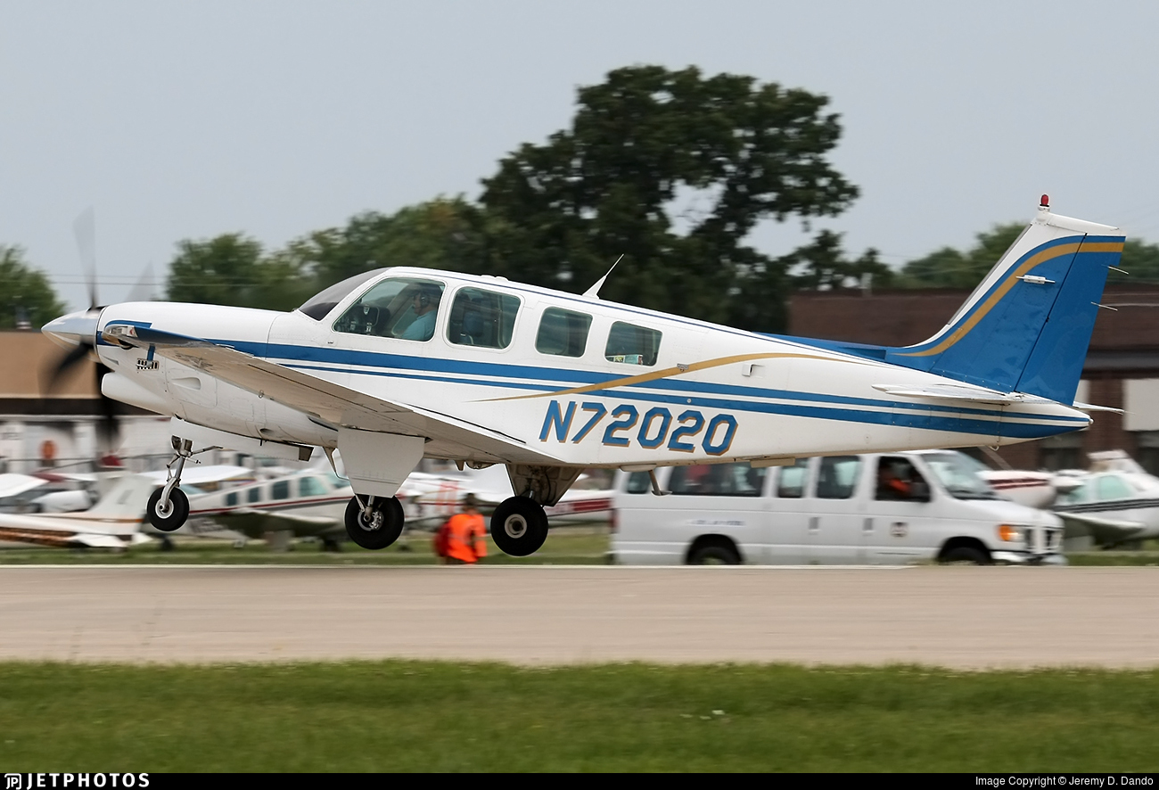 N72020 - Beechcraft B36TC Bonanza - Private
