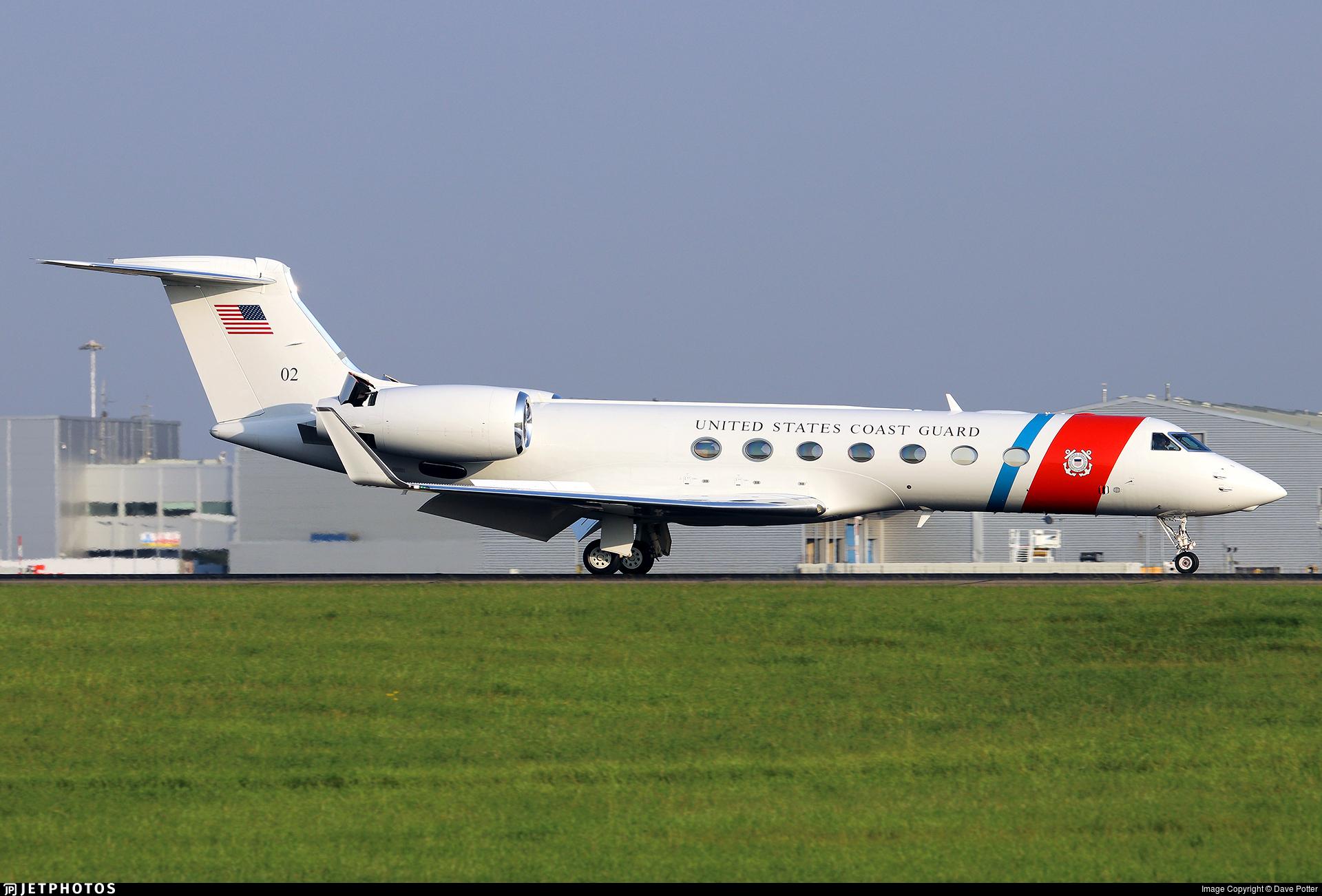 02 - Gulfstream C-37B - United States - US Coast Guard (USCG)
