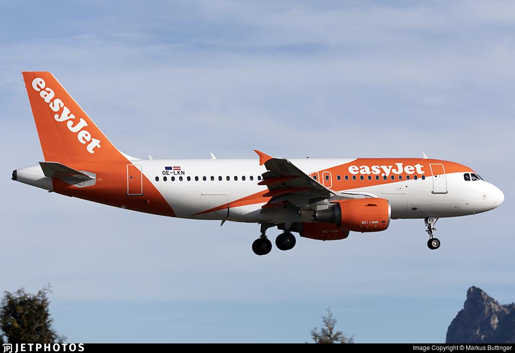 OE-LKN - Airbus A319-111 - easyJet Europe