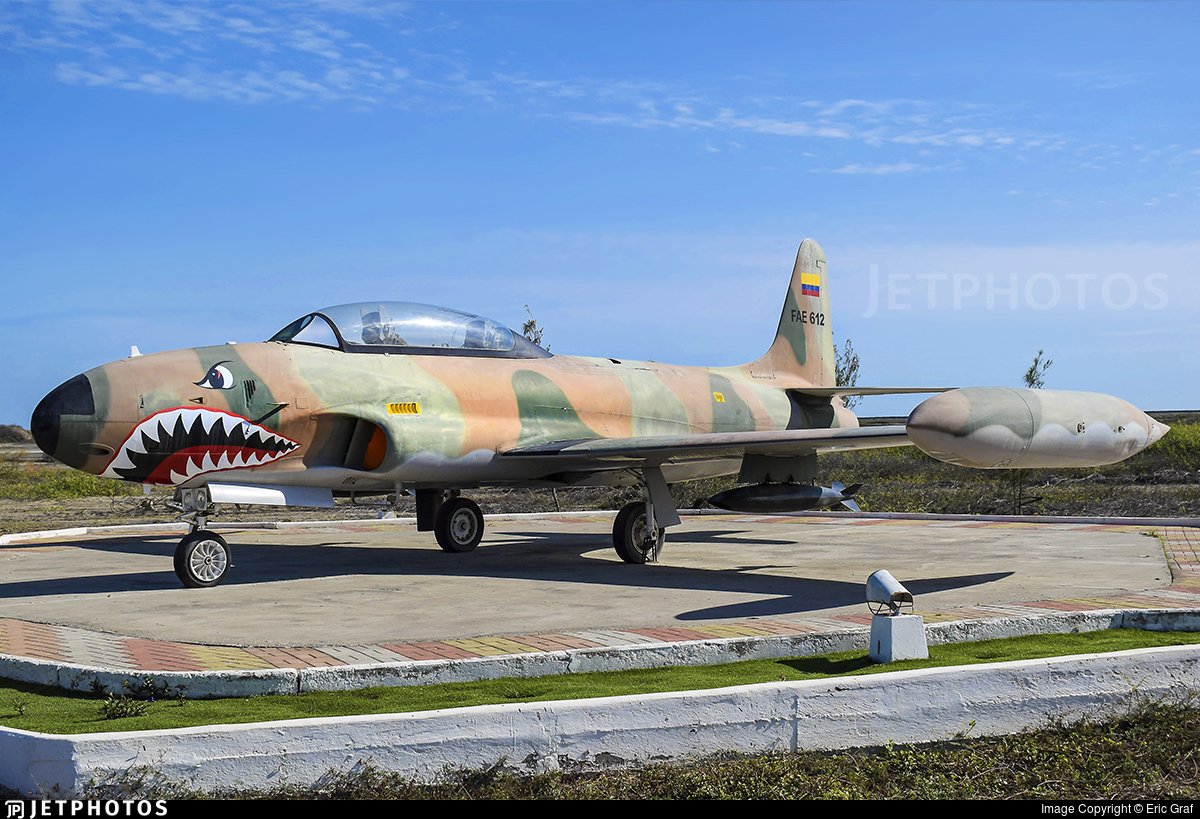 FAE612 - Lockheed T-33A Shooting Star - Ecuador - Air Force
