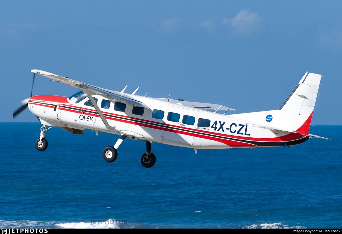 4X-CZL - Cessna 208B Grand Caravan - Ofek