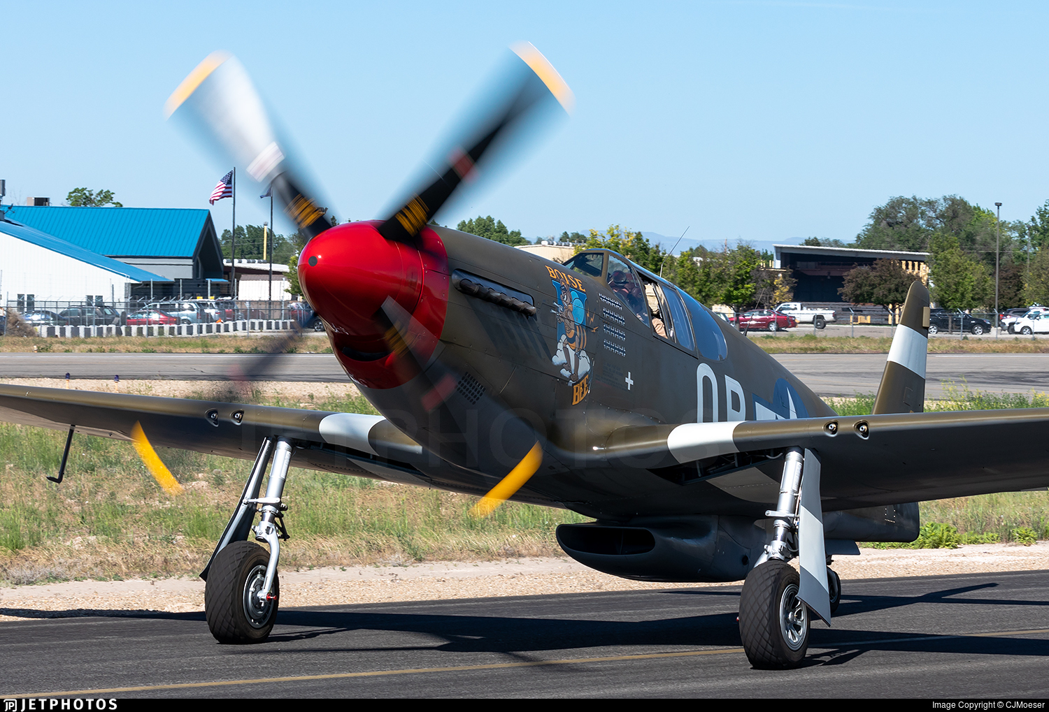 NX4651C - North American P-51C Mustang - Private
