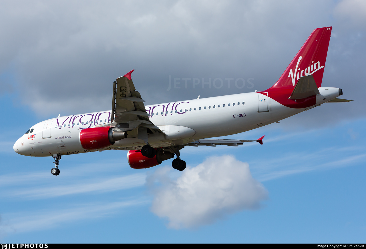 EI-DEO - Airbus A320-214 - Virgin Atlantic Airways