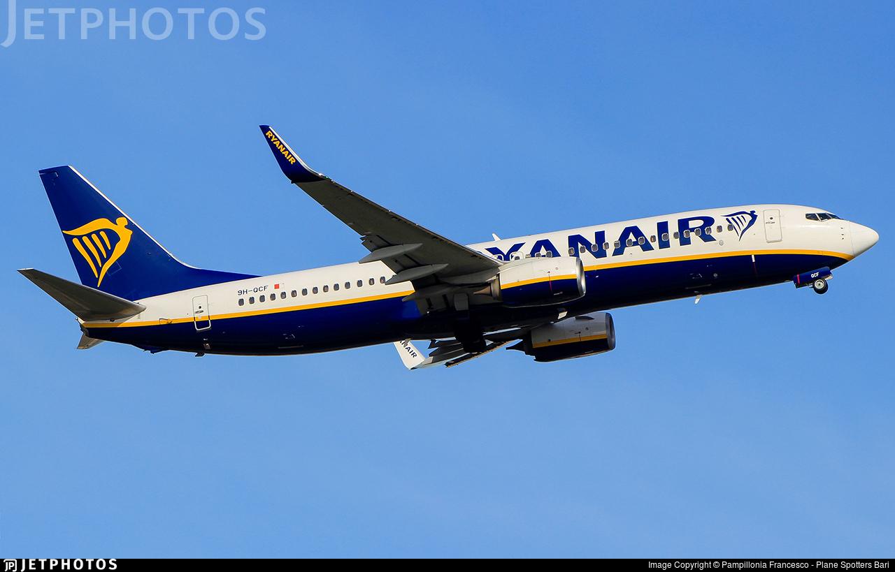 9H-QCF - Boeing 737-8AS - Ryanair (Malta Air)
