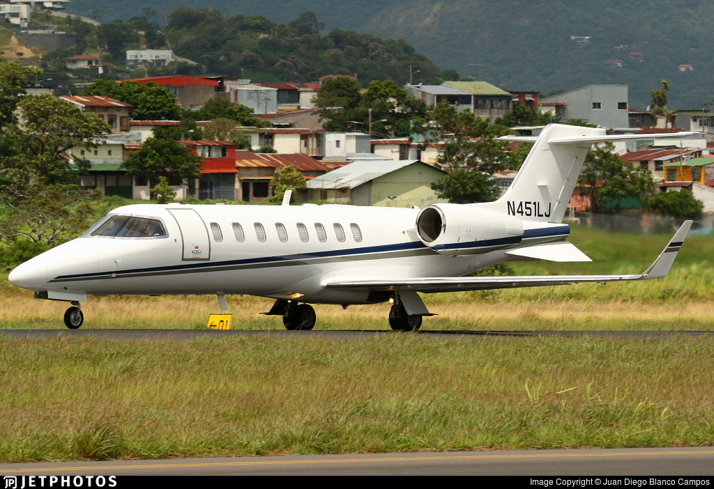 N451LJ - Bombardier Learjet 45 - Private