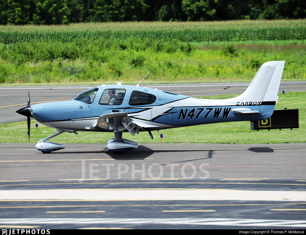 N477WW - Cirrus SR22-GTS G6 Carbon - Private