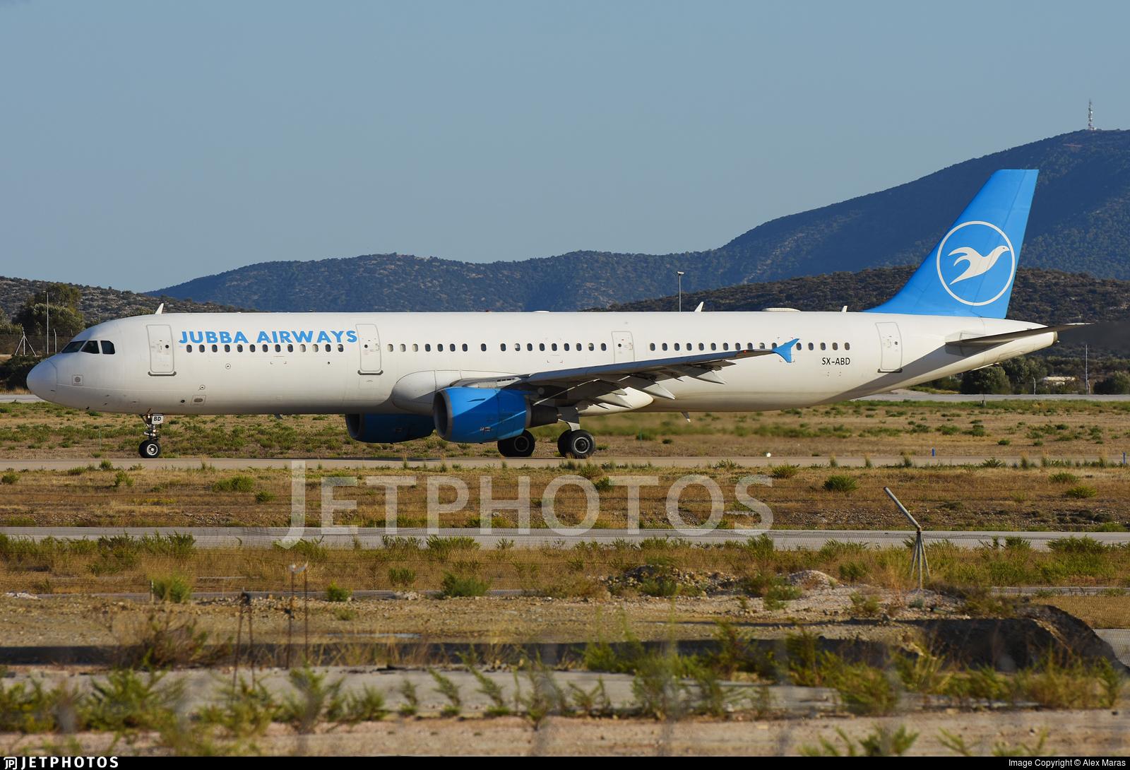 SX-ABD - Airbus A321-111 - Jubba Airways