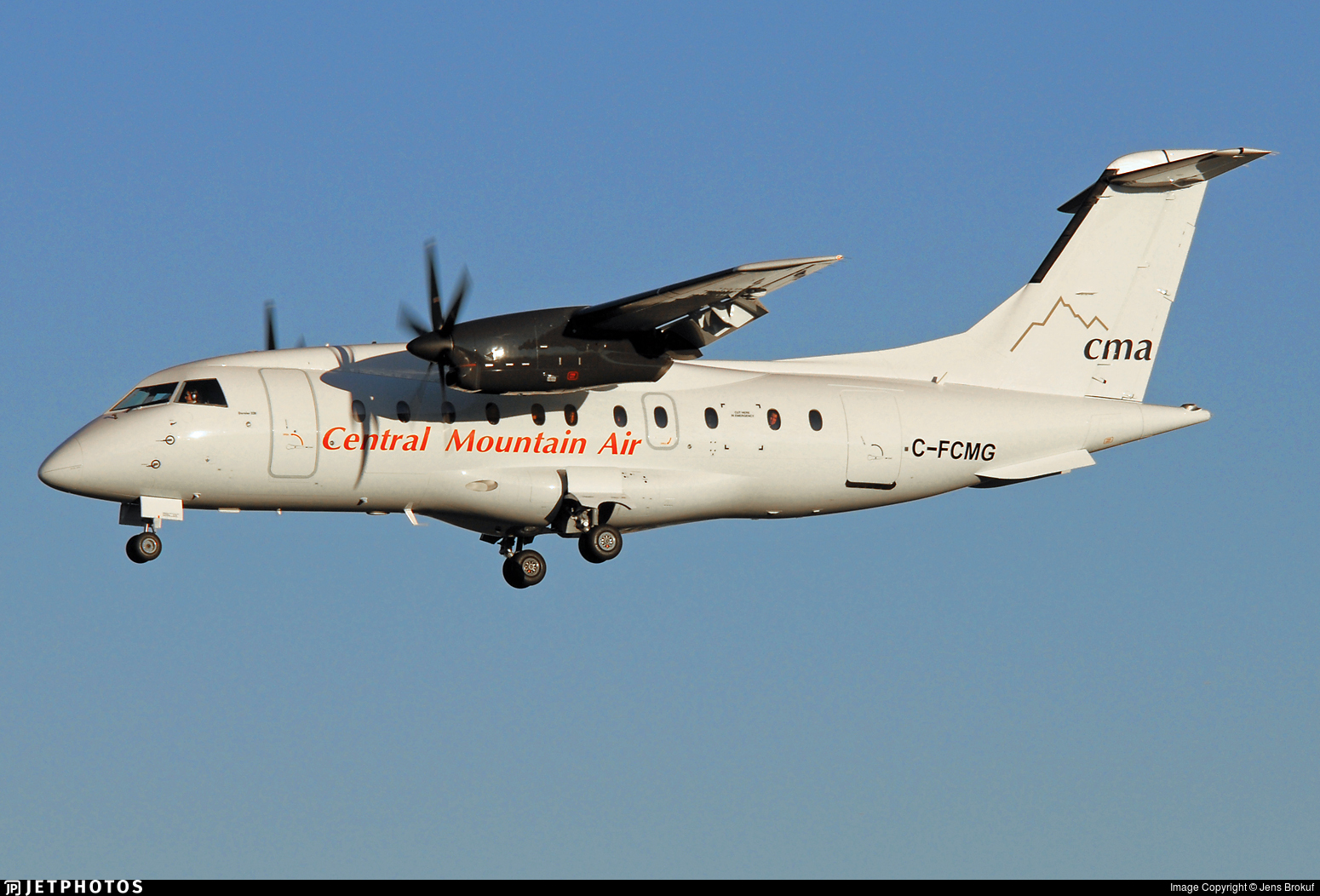 C-FCMG - Dornier Do-328-110 - Central Mountain Air