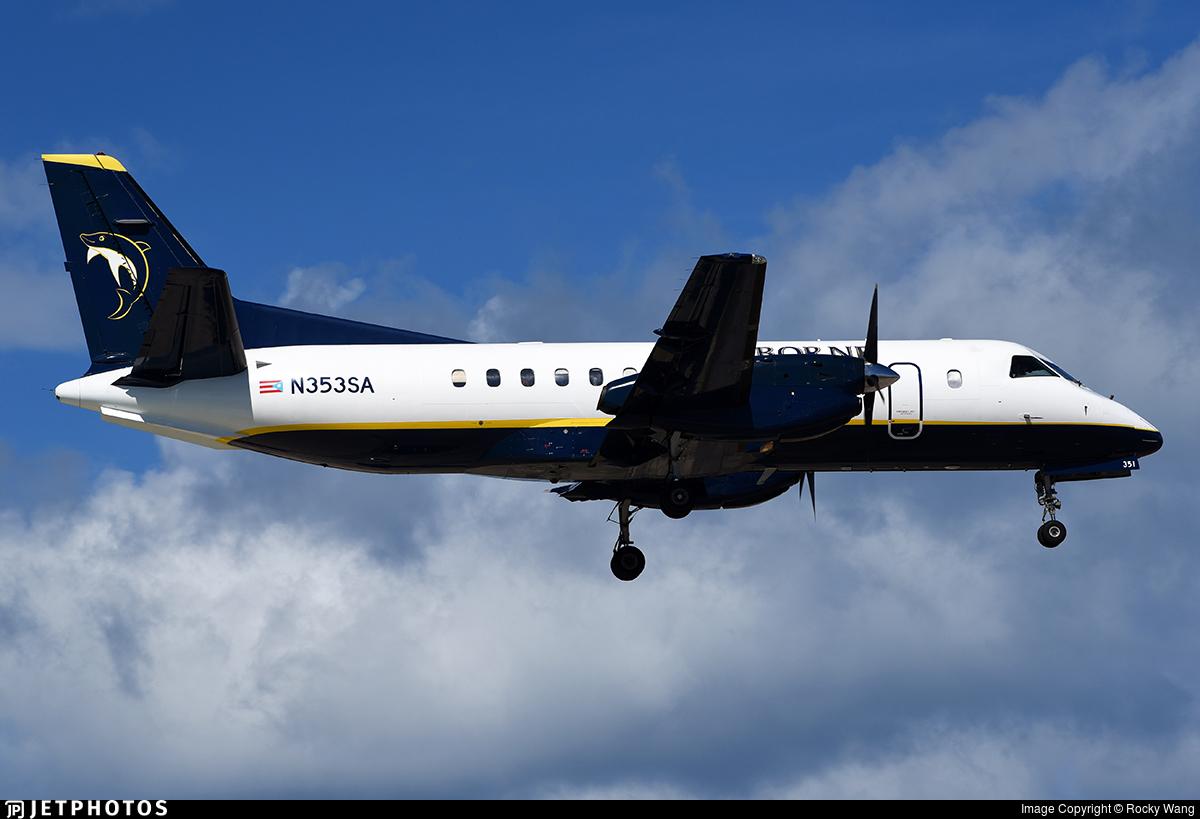 N353SA - Saab 340B - Seaborne Airlines