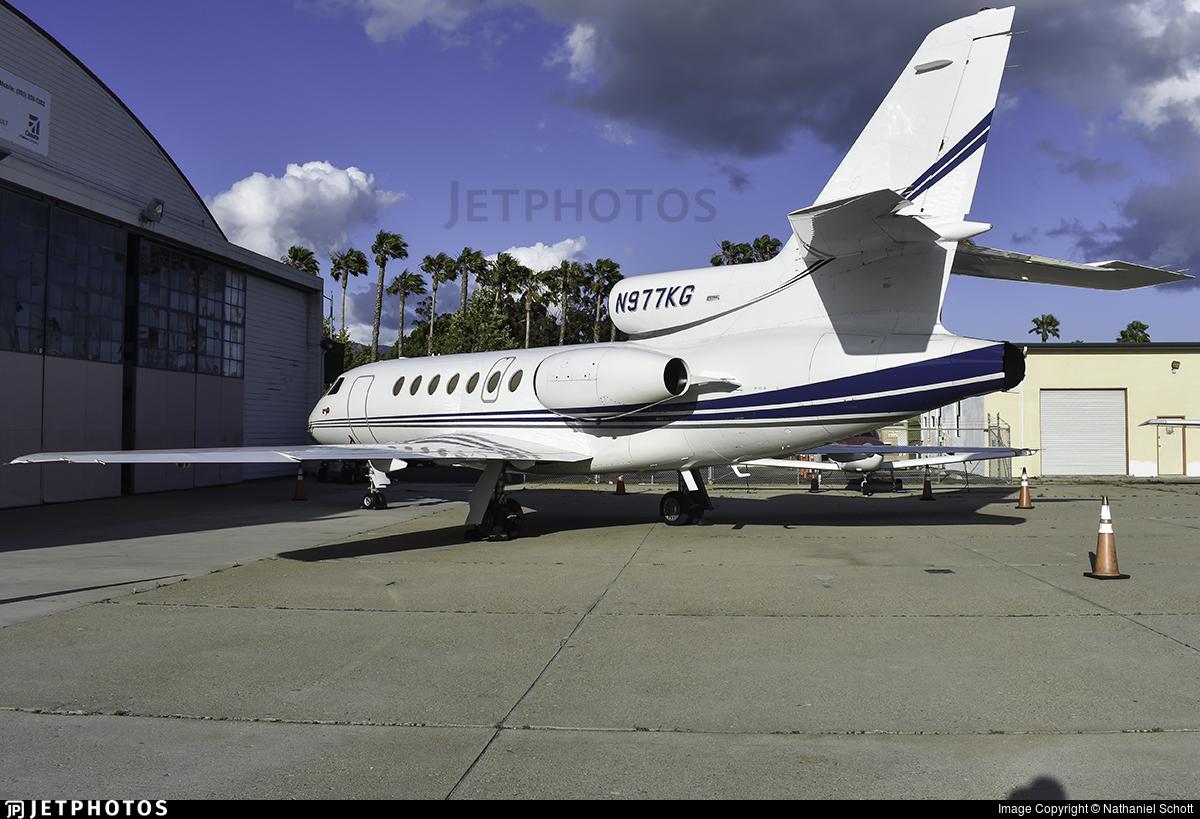 N977KG - Dassault Falcon 50M - Private
