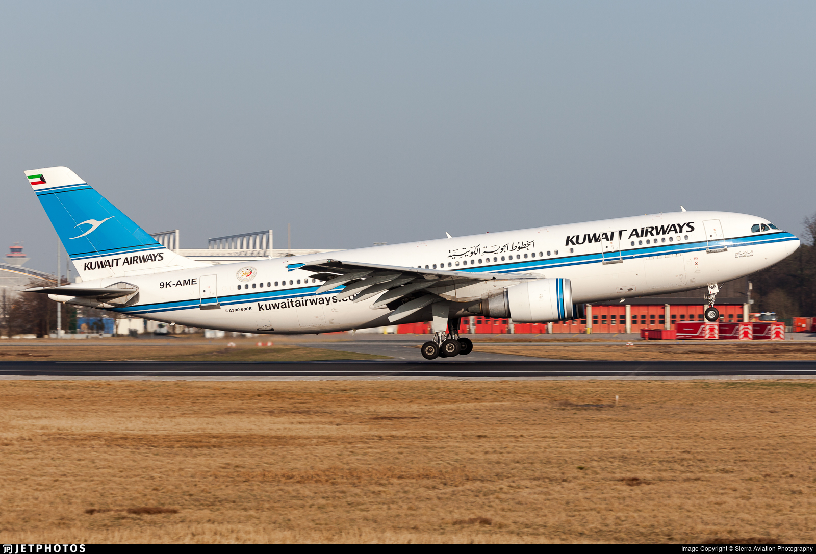 9K-AME - Airbus A300B4-605R - Kuwait Airways