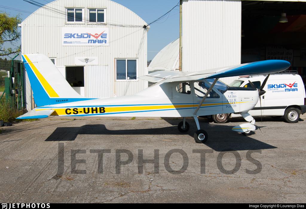 CS-UHB - Tecnam P92 Echo - Aero Club do Porto