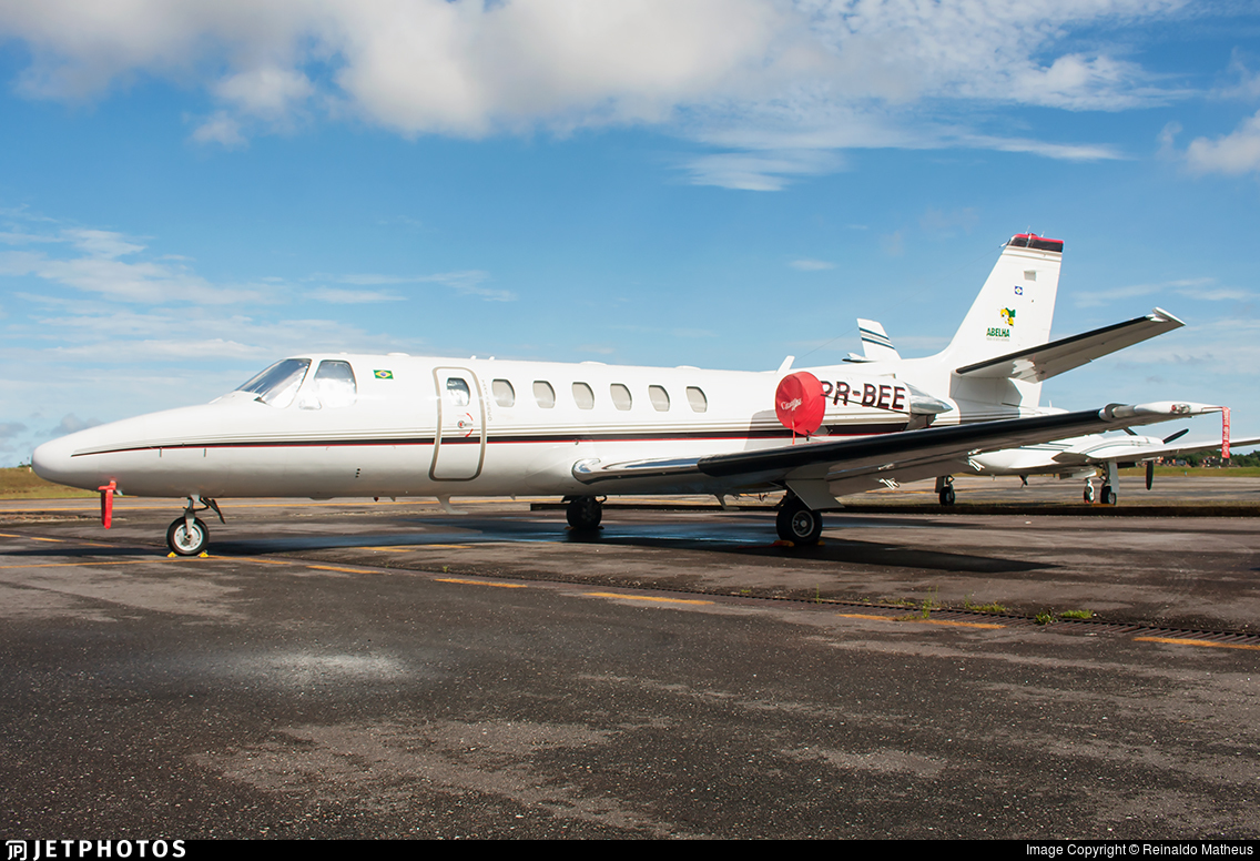 PR-BEE - Cessna 560 Citation Ultra - Private