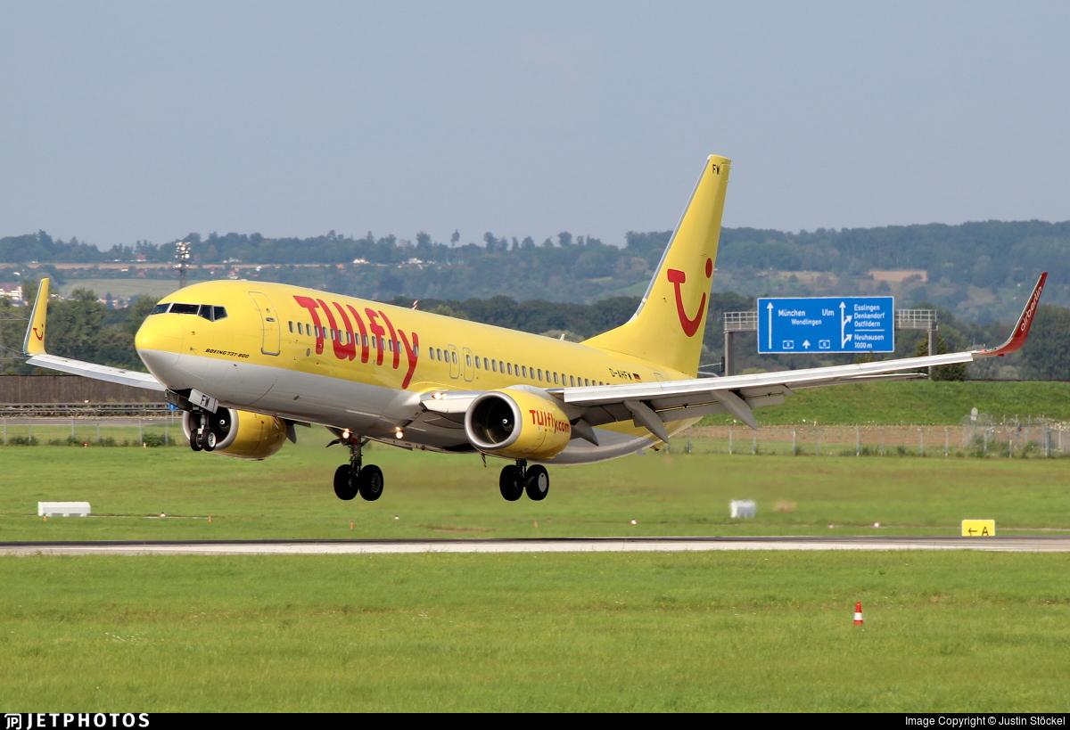 D-AHFW - Boeing 737-8K5 - TUIfly