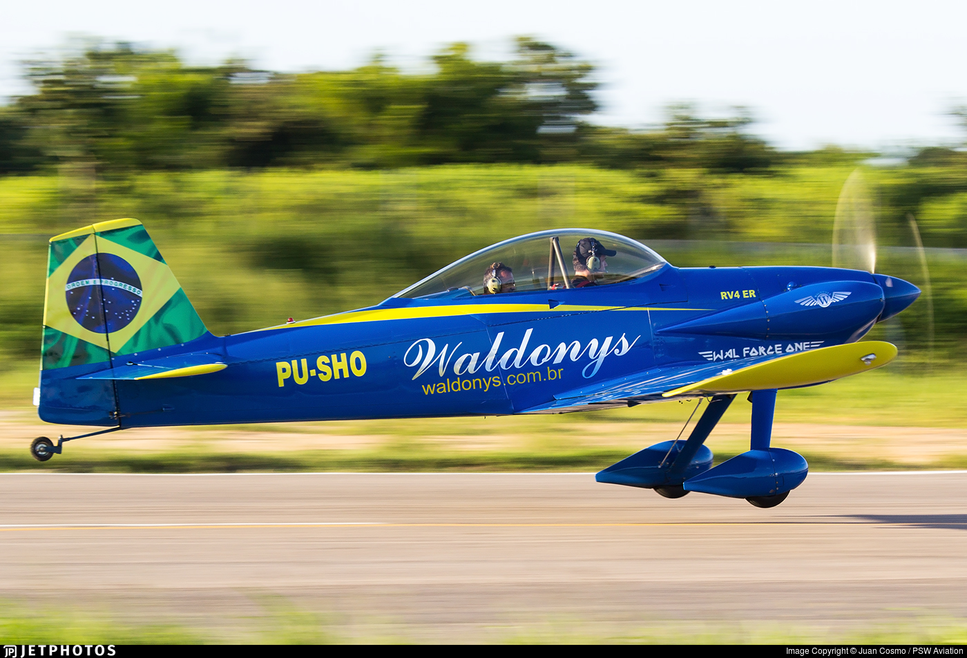 PU-SHO - Vans RV-4 - Private