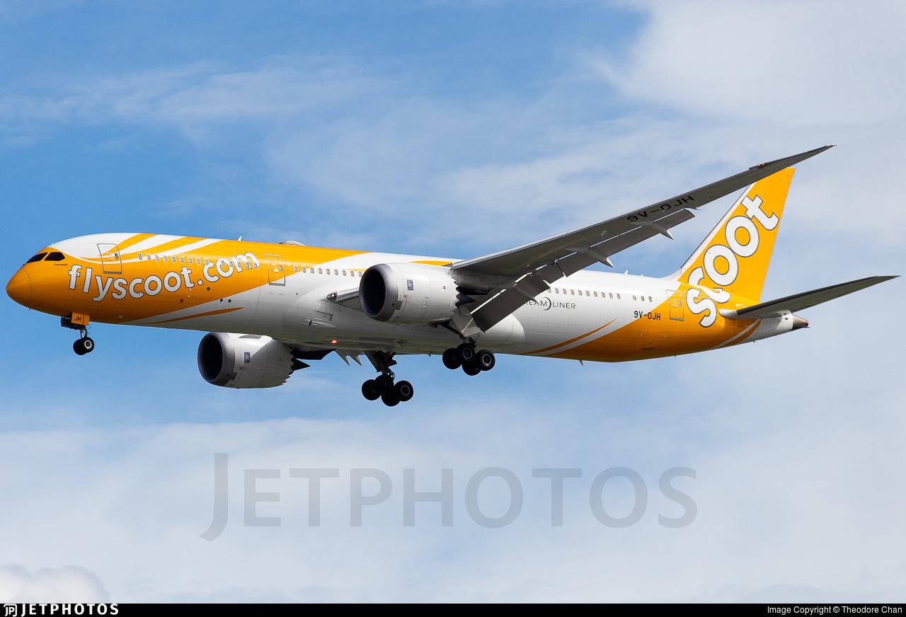 9V-OJH - Boeing 787-9 Dreamliner - Scoot