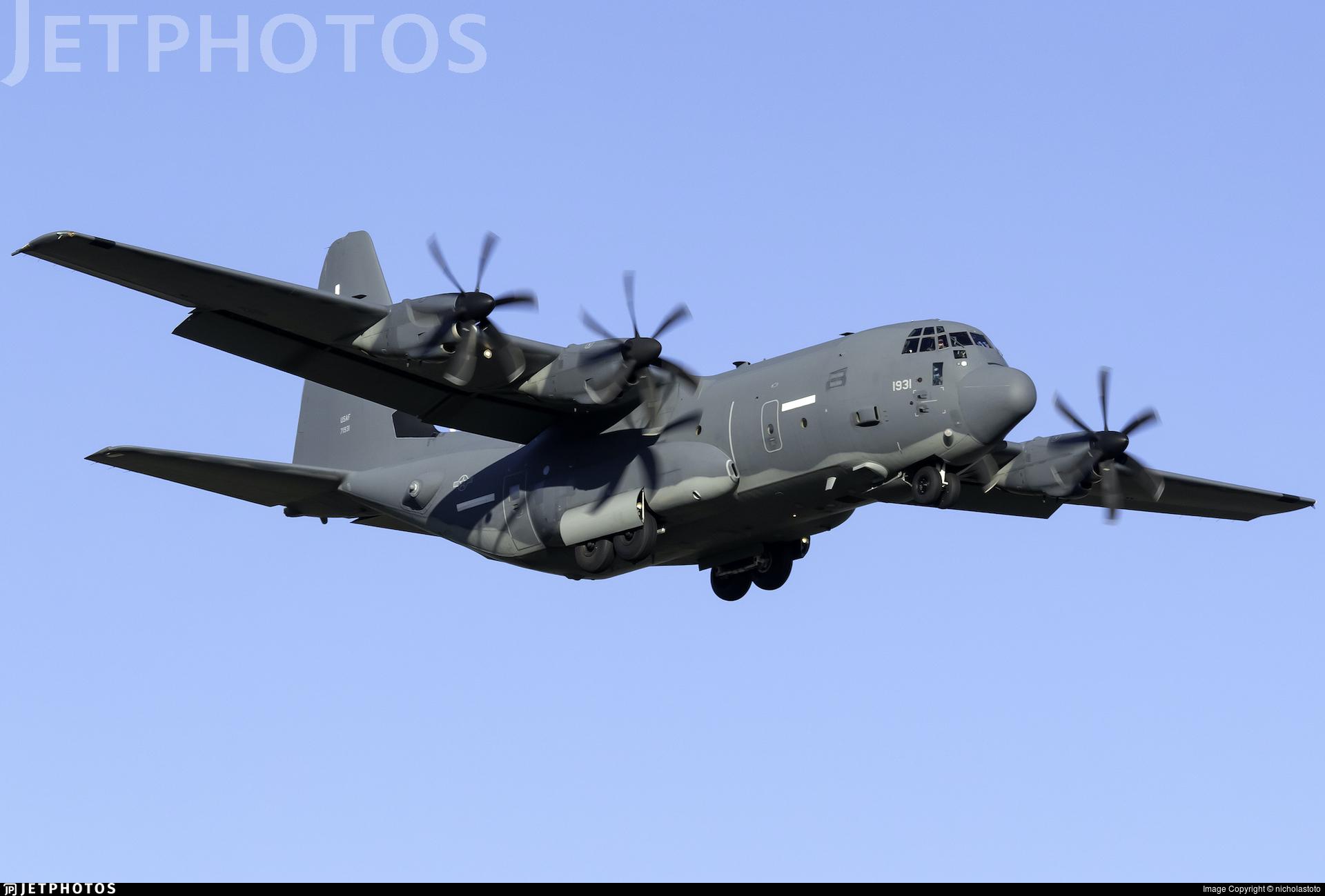 97-1931 - Lockheed Martin EC-130J Hercules - United States - US Air Force (USAF)