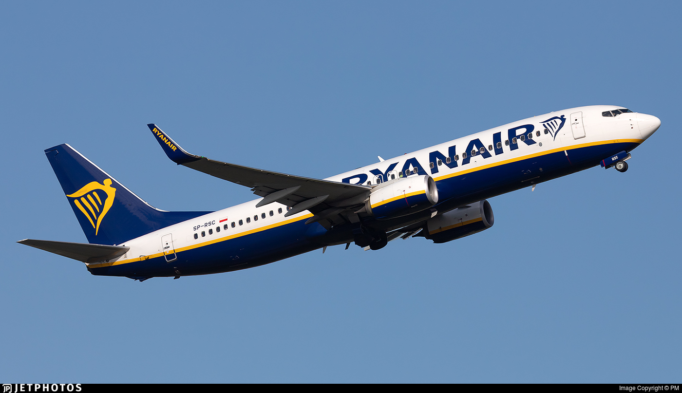 SP-RSC - Boeing 737-8AS - Ryanair Sun
