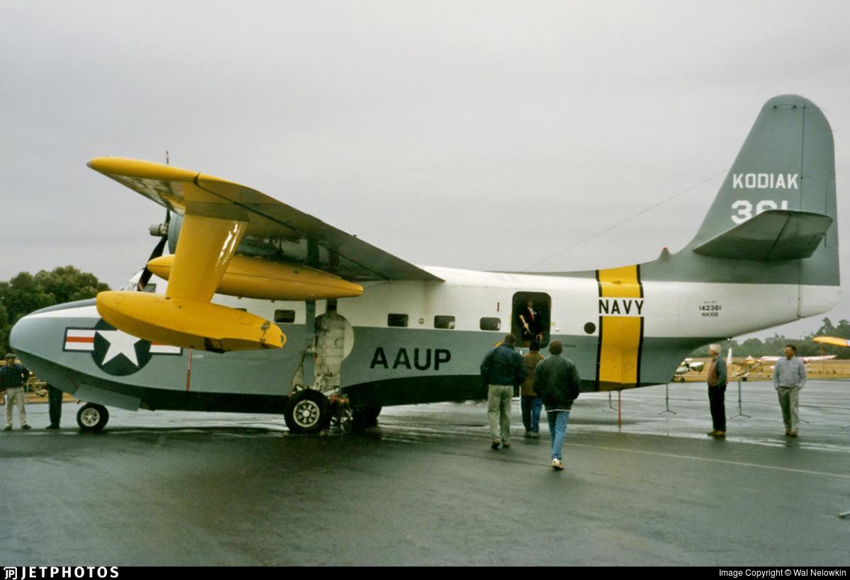N143DB - Grumman HU-16C Albatross - Private