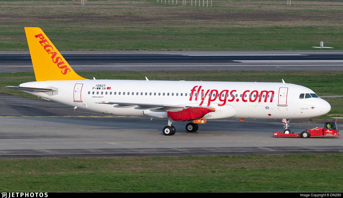 F-WWIH - Airbus A320-251N - Pegasus Airlines