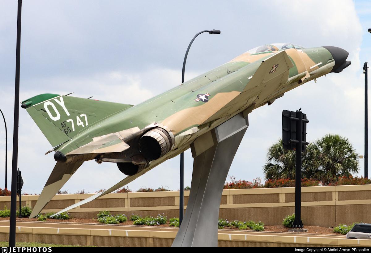 65-0747 - McDonnell Douglas F-4D Phantom II - United States - US Air Force (USAF)