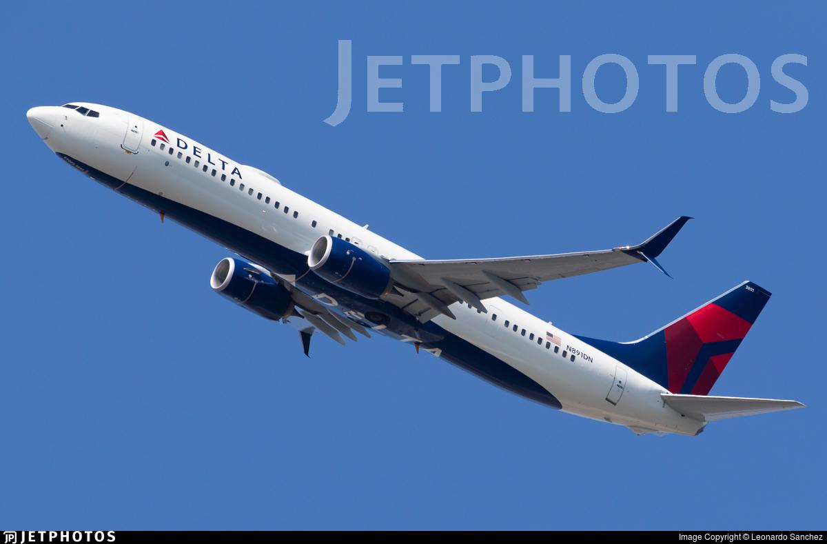 N891DN - Boeing 737-932ER - Delta Air Lines