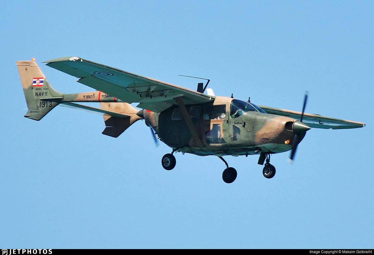 1313 - Cessna 337H Skymaster - Thailand - Royal Thai Navy
