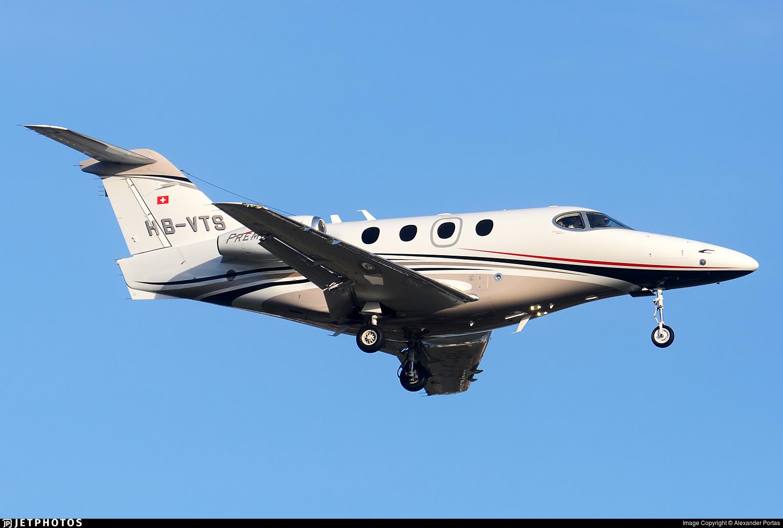 HB-VTS - Raytheon 390 Premier IA - Private