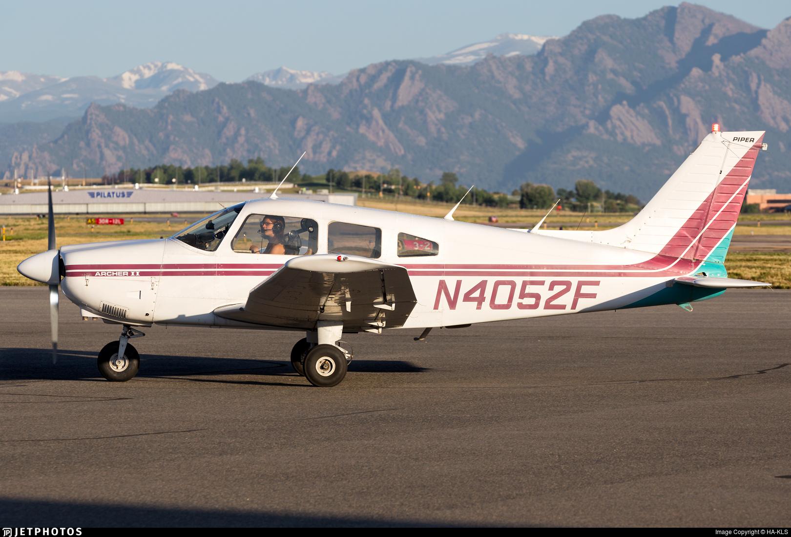 N4052F - Piper PA-28-181 Archer II - Private