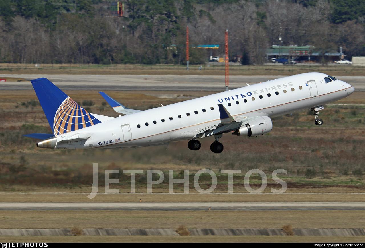 N87345 - Embraer 170-200LR - United Express (Mesa Airlines)