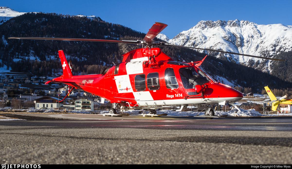 HB-ZRR - Agusta A109SP Da Vinci - REGA - Swiss Air Ambulance