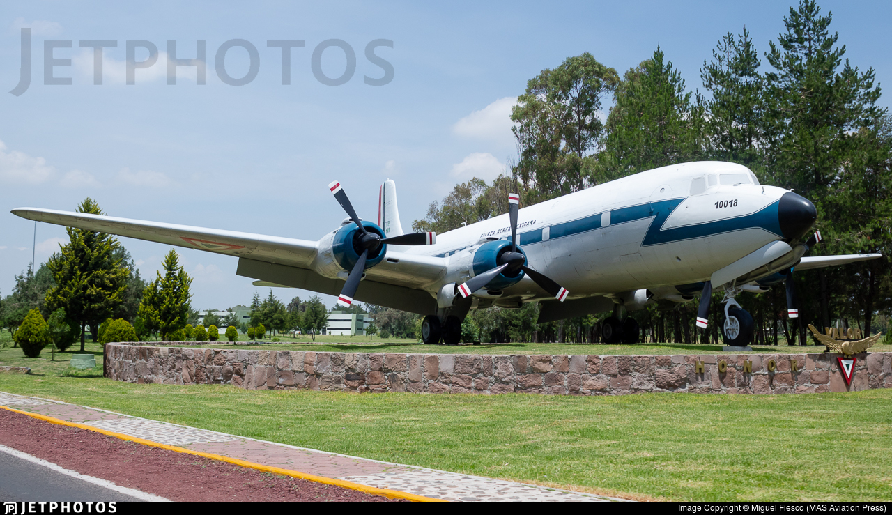 ETP-10018 - Douglas DC-6A Liftmaster - Mexico - Air Force