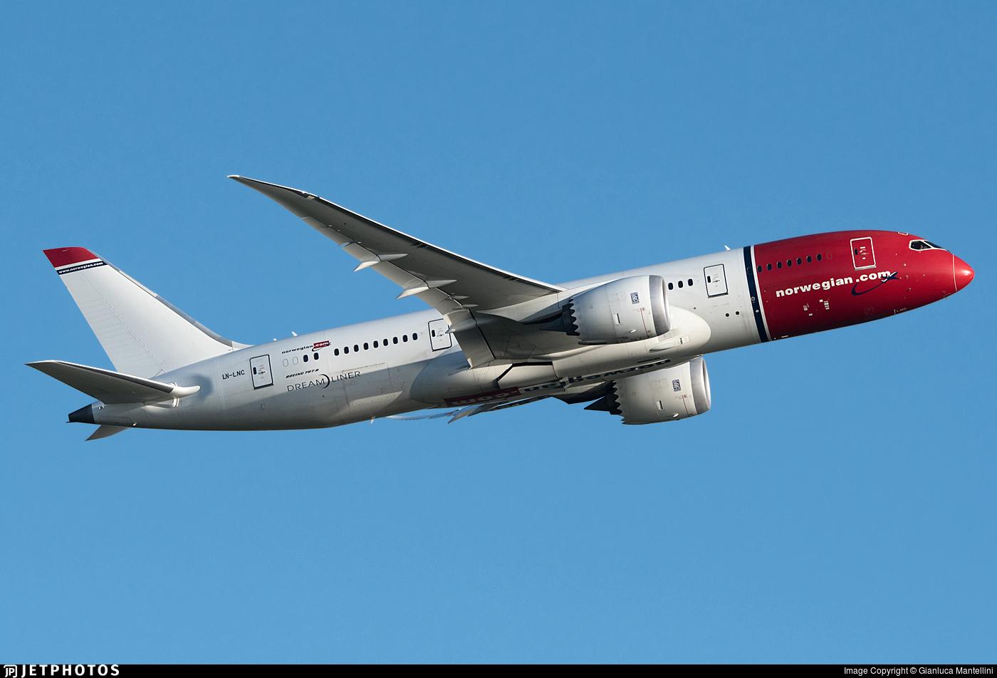 LN-LNC - Boeing 787-8 Dreamliner - Norwegian