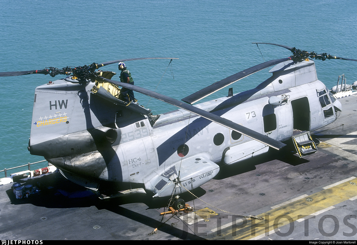 152539 - Boeing Vertol HH-46D Sea Knight - United States - US Navy (USN)