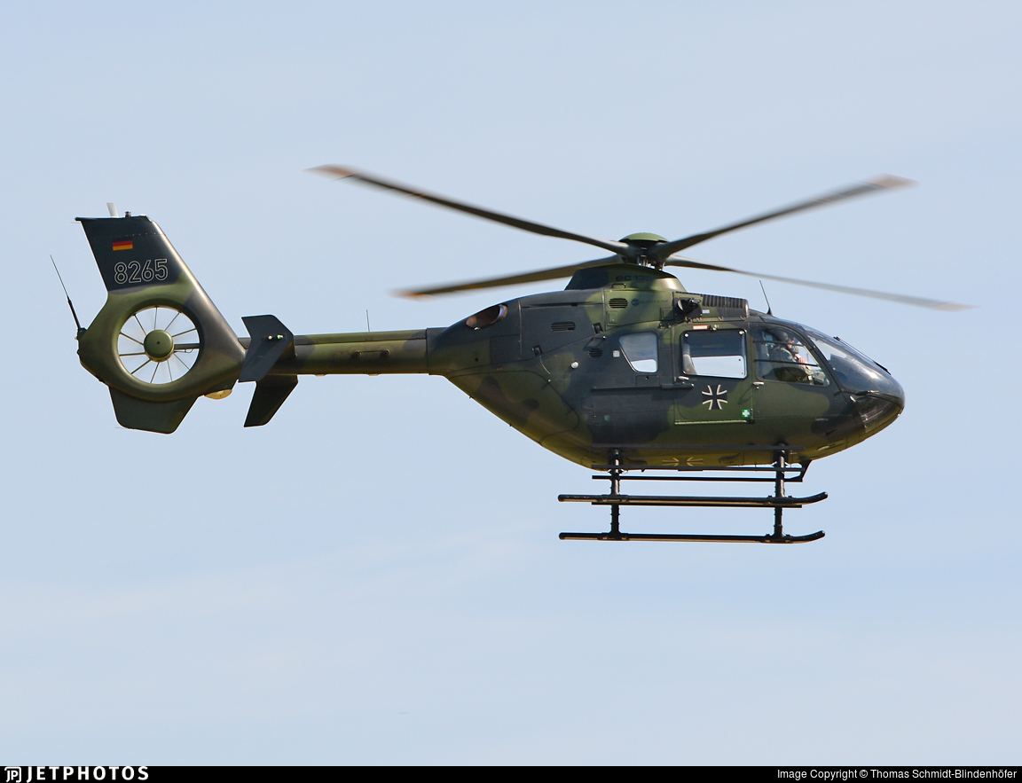 82-65 - Eurocopter EC 135 - Germany - Army