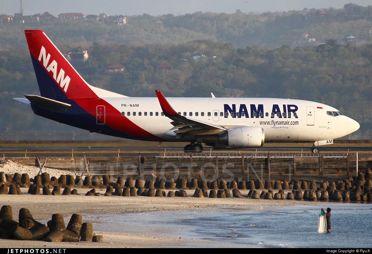 PK-NAM | Boeing 737-524 | NAM Air | Ryu.K | JetPhotos