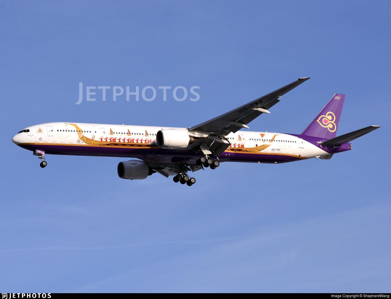 HS-TKF - Boeing 777-3D7 - Thai Airways International