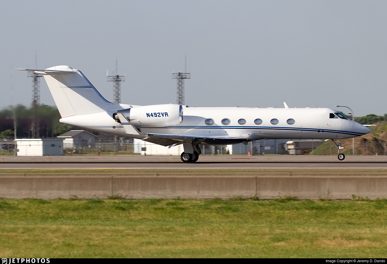 N492VR - Gulfstream G-IV(SP) - Private