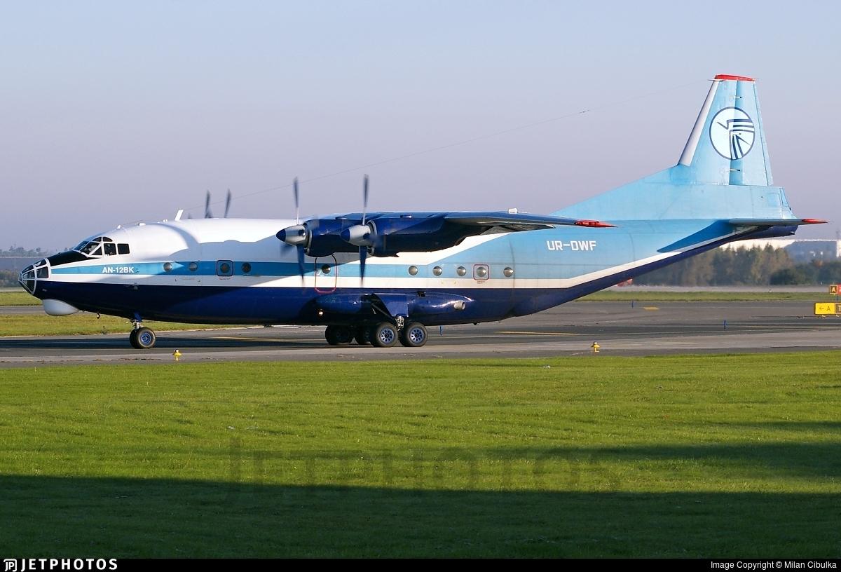 UR-DWF - Antonov An-12BK - Ukraine Air Alliance (UAA)