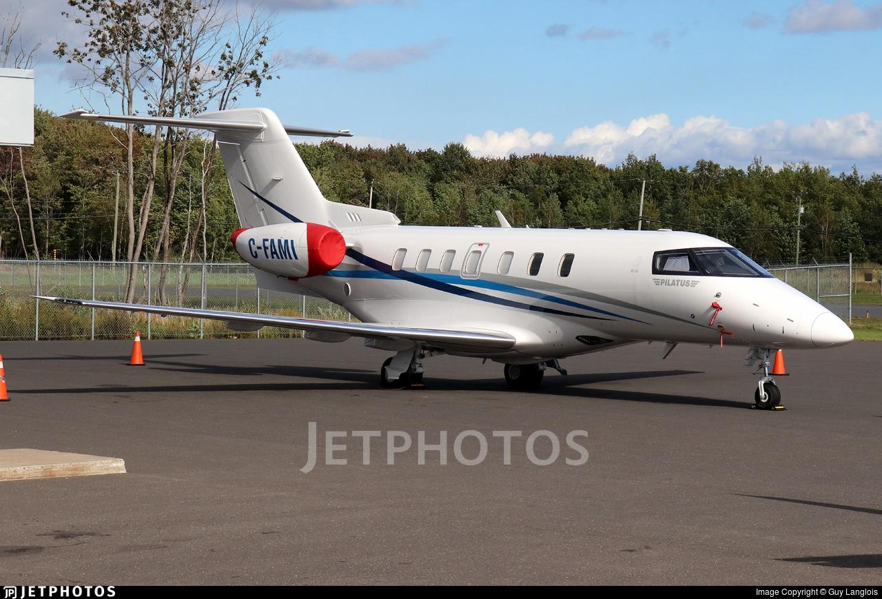 C-FAMI - Pilatus PC-24 - Aviation Starlink