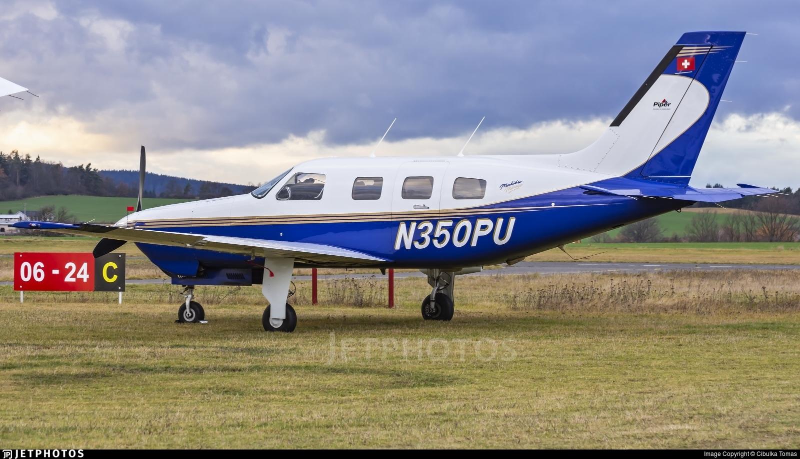 N350PU - Piper PA-46-350P Malibu Mirage - Private