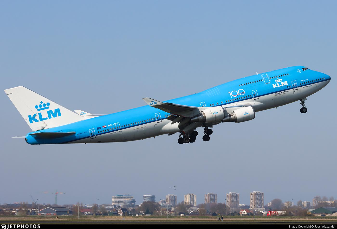 PH-BFL - Boeing 747-406 - KLM Royal Dutch Airlines