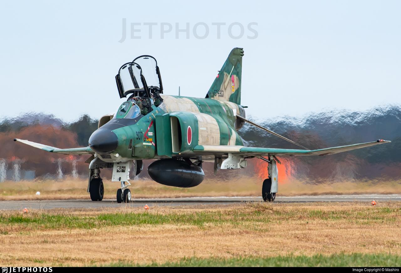57-6907 - McDonnell Douglas RF-4E Kai Phantom II - Japan - Air Self Defence Force (JASDF)