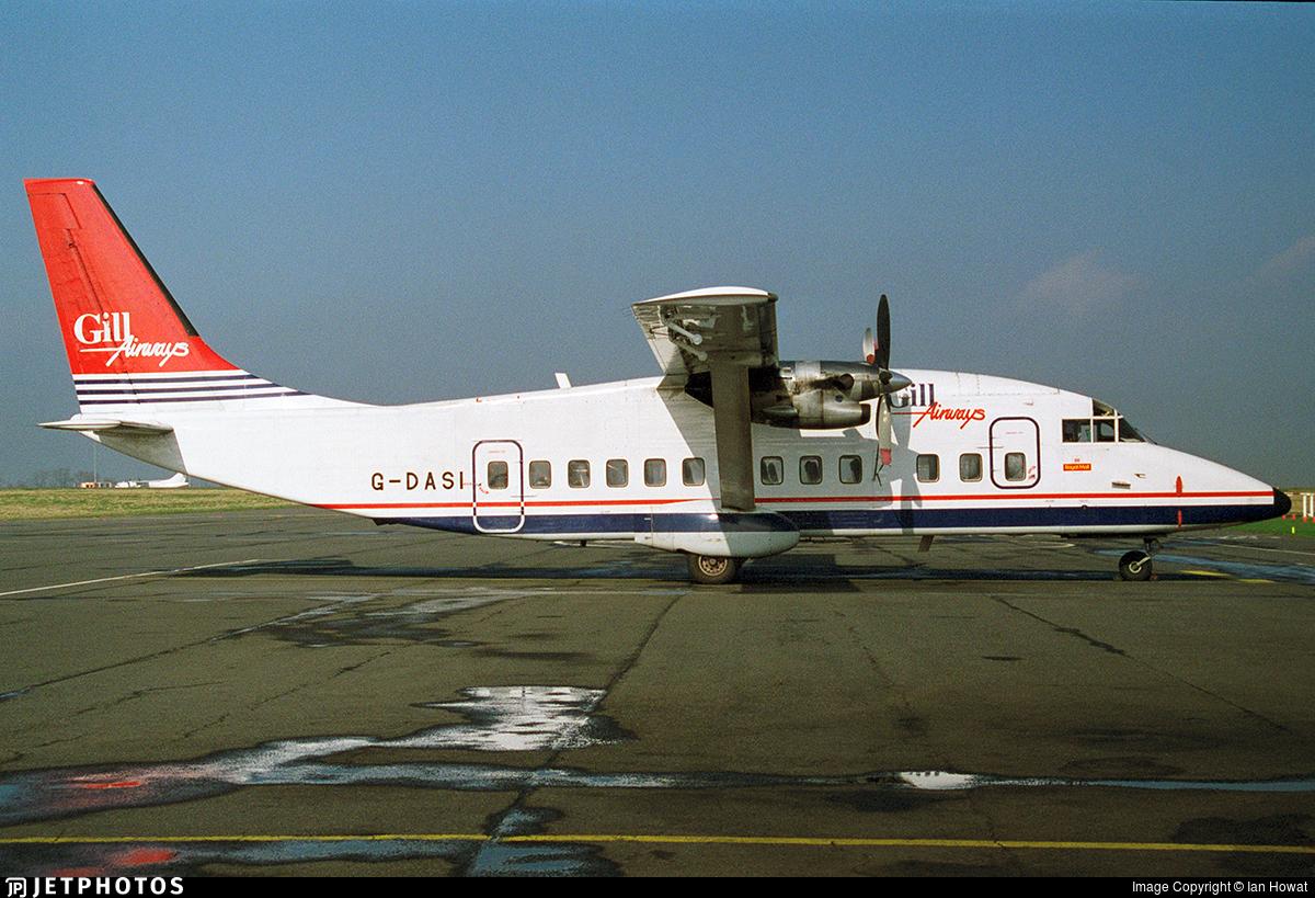 G-DASI - Short 360-100 - Gill Airways