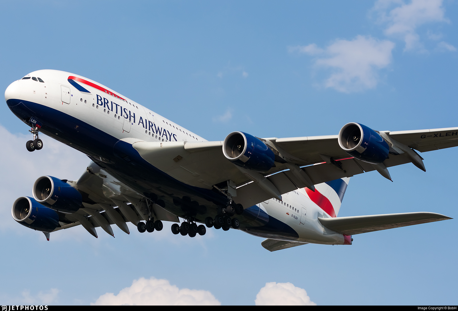 G-XLEH - Airbus A380-841 - British Airways