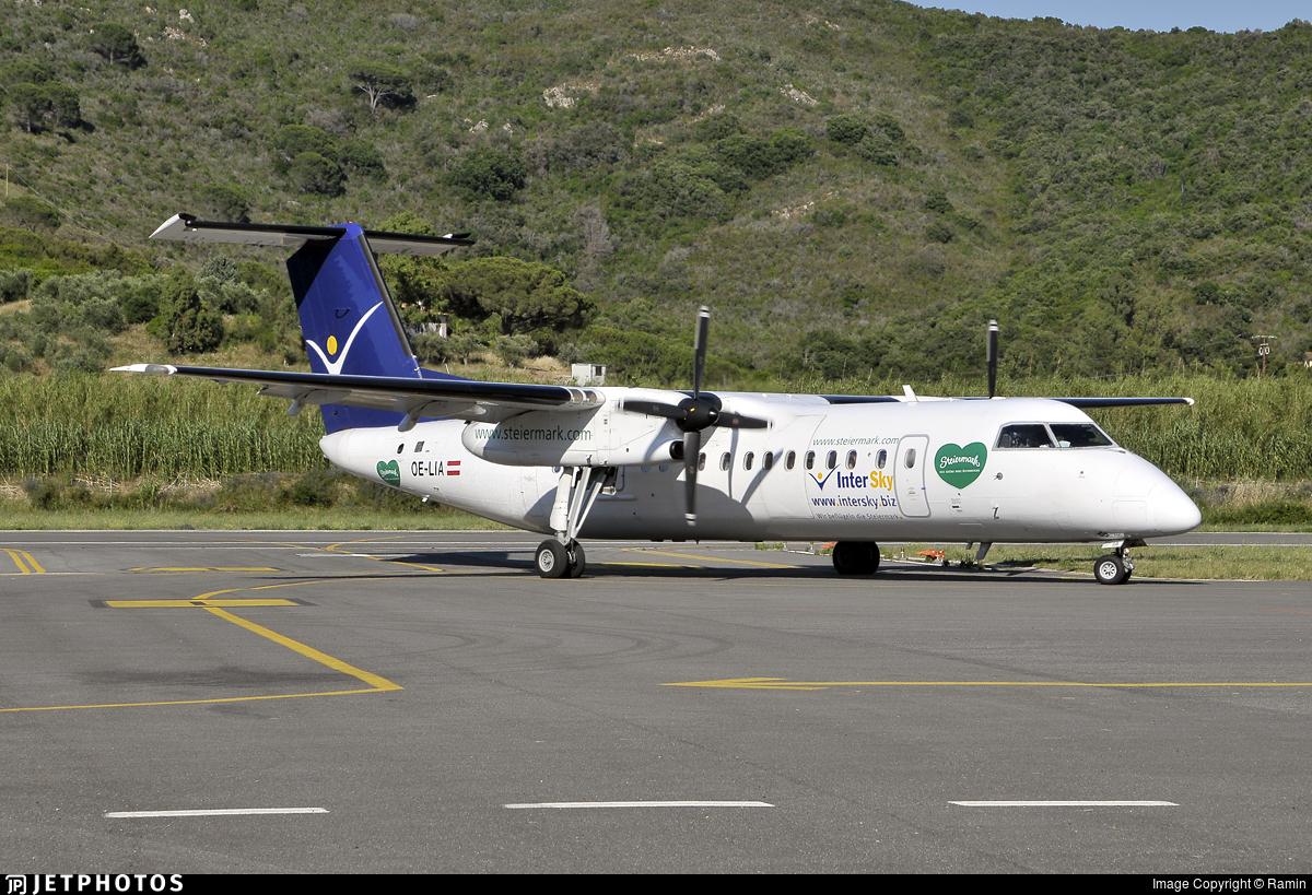 OE-LIA - Bombardier Dash 8-Q311 - InterSky
