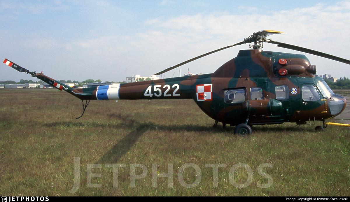 4522 - PZL-Swidnik Mi-2 Hoplite - Poland - Air Force