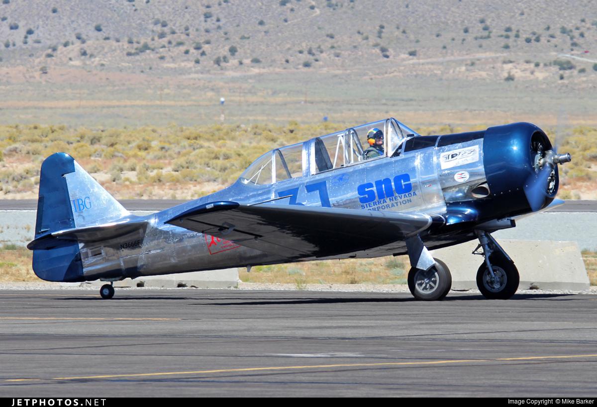 N3666F - North American SNJ-5 Texan - Private